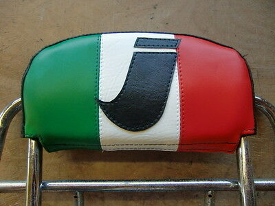 Italian Flag ' I ' Scooter Back Rest Cover (Purse Style)