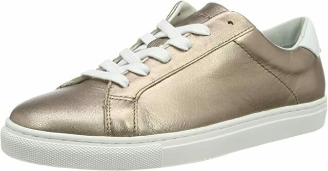 White Leather Womens Trainers 41 EU for