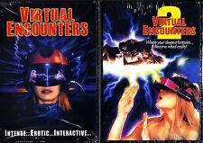 VIRTUAL ENCOUNTERS 1 & 2 DVD ADULT ENTERTAINMENT HOT!!  REGION FREE