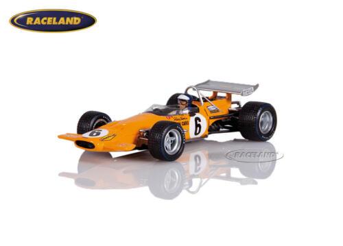 McLaren M14A Cosworth V8 F1 6° GP Kanada 1970 Peter Gethin S7141 Spark 1:43