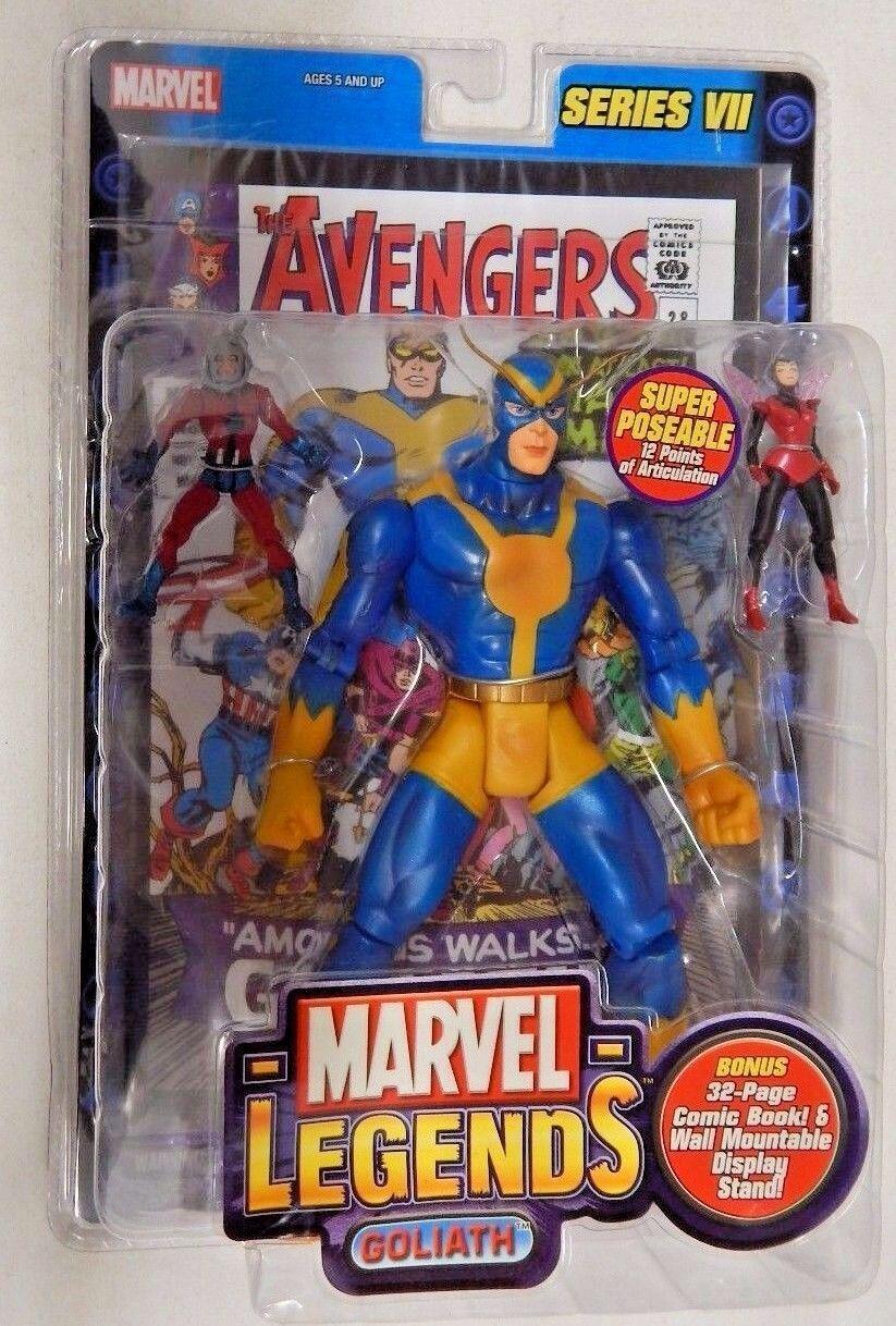 Giant-Man (Goliath) MARVEL leyendas ANT-MAN & WASP figuras de acción + Libro De Historietas
