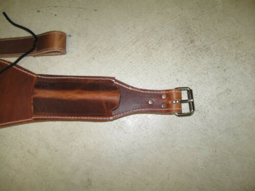 """New horse tack 51//2/"""" back cinch saddle back flank strap roping harness leather"""