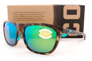 b93035ee96 New Costa Del Mar Sunglasses CHEECA Matte Shadow Tortoise Green ...