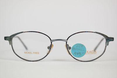 Attento Vintage Skaga 224 Pannus 86k 49 [] 18 135 Verde Grigio Ovale Occhiali Eyeglasses Nos-mostra Il Titolo Originale