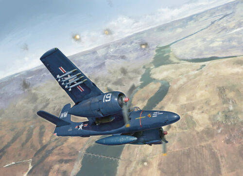 F7F-3 Tigercat Fighter Plastic Kit 1:48 Model 2756 ITALERI
