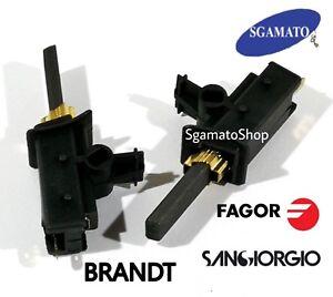 Spazzole Motore Lavatrice.Dettagli Su Spazzole Motore Lavatrice Fagor San Giorgio Brandt Sp37z1