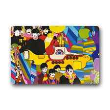 The Beatles Yellow Durable Floor Mat Doormat Carpet Non Slip Indoor Outdoor