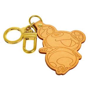 LOUIS-VUITTON-Porte-Cles-Panda-Bag-Charm-Key-Holder-M62637-Authentic-M13996c