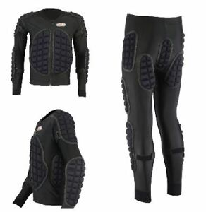 MOTORCYCLE-MOTORBIKE-BODY-ARMOUR-PROTECTIVE-EMBOSSING-SUIT-IMPACT-AREA-GEAR