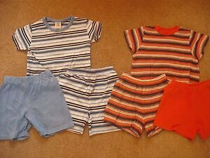 Next-matching-t-shirts-and-shorts-age-9-12-months