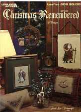Leisure Arts 508 Christmas Remembered Cross Stitch Patterns Terrie L Steinmeyer