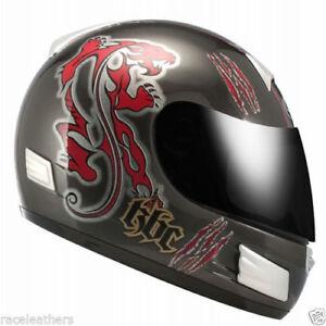 Cheap Sale Kbc Tk8 Predator Black Red Fullface Motorcycle Motorbike