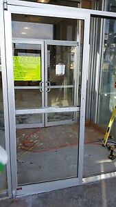 Commercial Storefront Entry Glass Door 6 0x7 0 With Panic