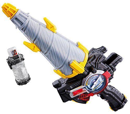 Bandai Kamen Masked Rider Build DX Drill Crusher Harinezumi Full Bottle Toy Set