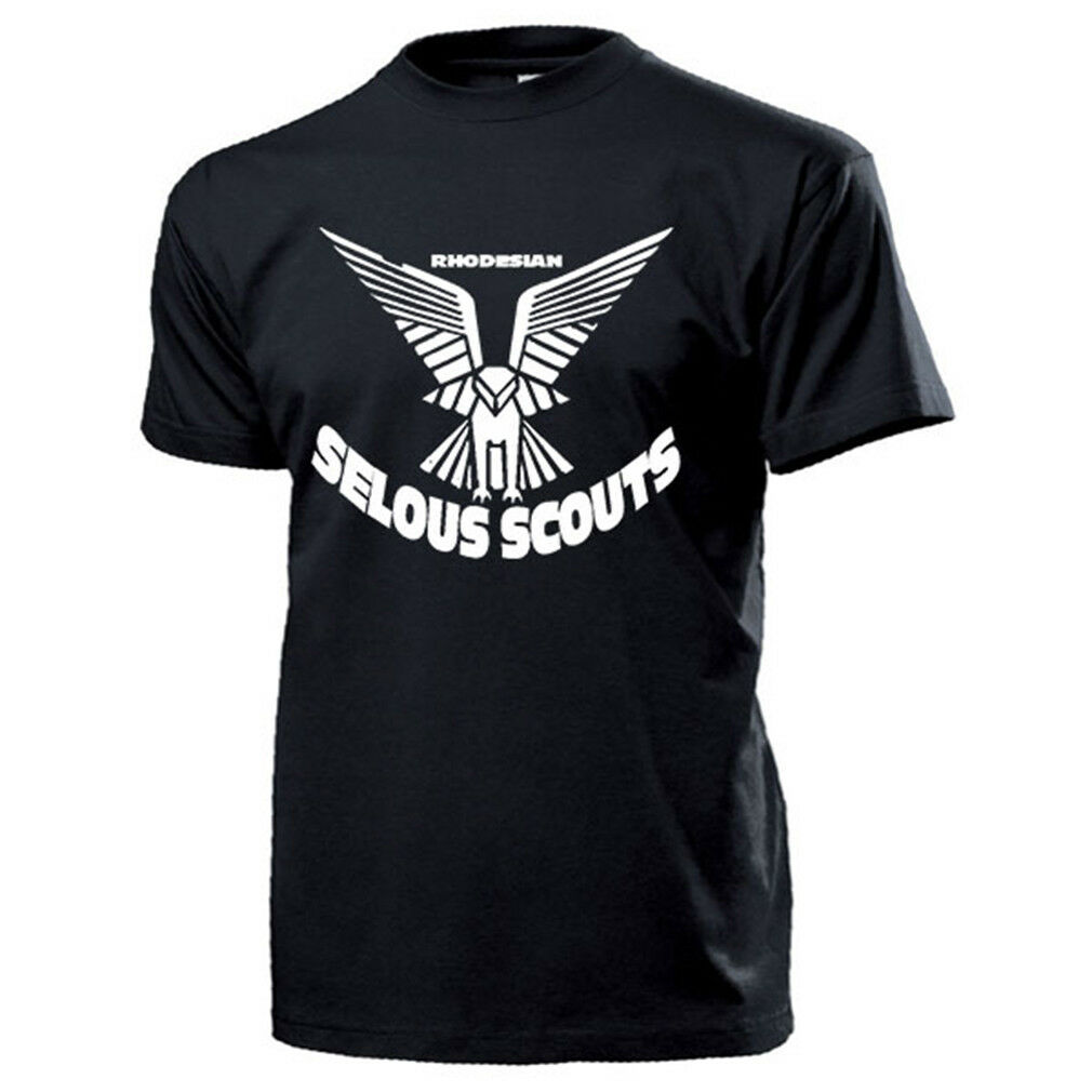 Rhodesian Selous Scouts Abzeichen Wappen Adler Afrika Selous T Shirt