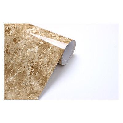 2m * Marron Emperador Brown Granite Look Marble Effect Film Vinyl Self Adhesive