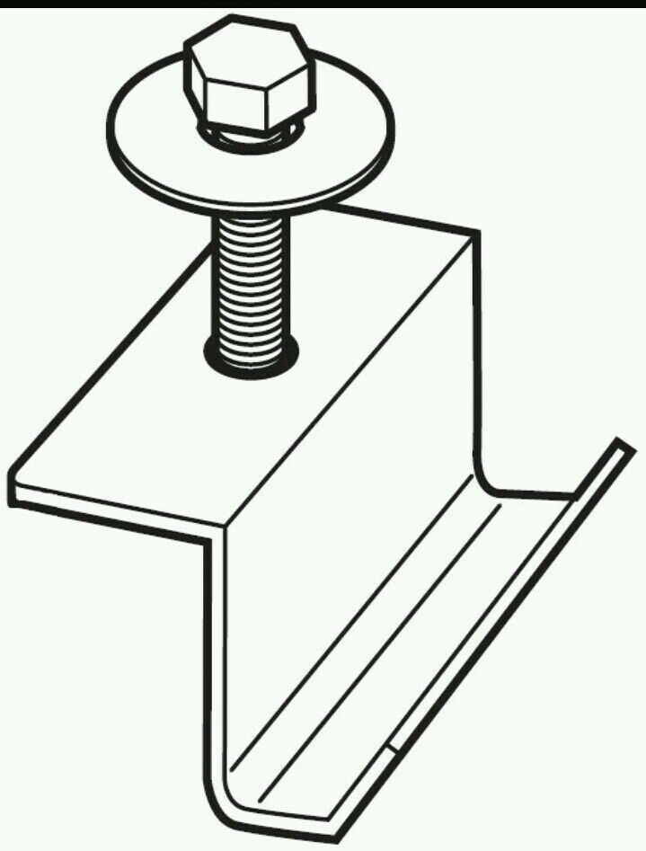 Weather Guard tool box clamp  7733 Best price  4 clamps 1 day sale