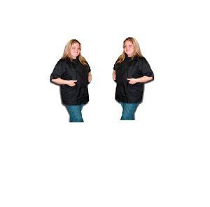 Stylist Wear Chiffonnée Nylon Coupe De Poils Veste - Noir S Xxxl Chaque