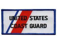 United States Coast Guard Rectangular Sew On High Quality Emblem-patch Gift?