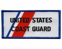 United States Coast Guard Rectangular Sew On High Quality Emblem-patch Gift?