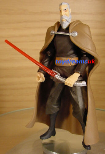 STAR WARS Clone Count Dooku Animated figure Loose Complete