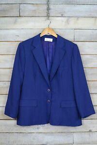 BURBERRYS 50 Giacca Blazer Blu Donna Cappotto Primaverile Cotone Jacket Woman   eBay