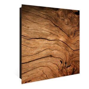 großer Glas Schlüsselkasten Von banjado mit Motiv trockenes Holz