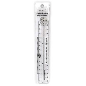 Midori Multi Ruler 30 Cm Pliable Ruler Clear 42266006 Japon-afficher Le Titre D'origine