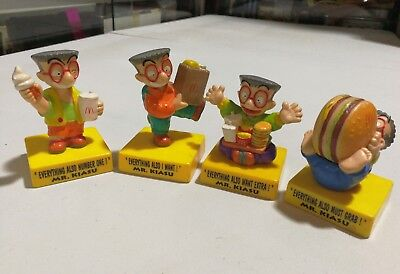 McDonald/'s 1998 Reversible Vehicles ~ Complete Set of 4 Rare Happy Meal Toy Cars
