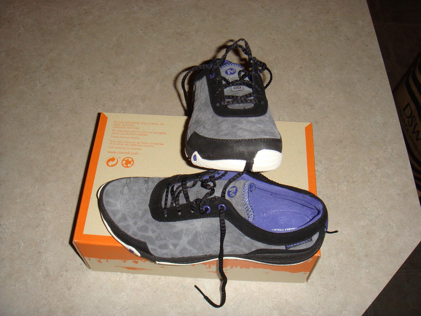 Merrell  AllOut Leap  J55522 Shoe Black Hiking Sneaker Women's US Size 7