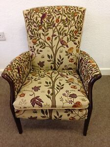 Image Is Loading Parker Knoll Froxfield Arm Chair Accent William Morris