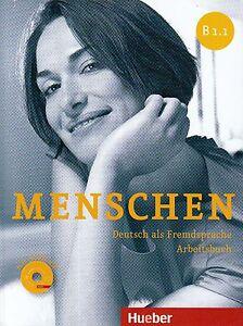 hueber menschen b1 1 deutsch als fremdsprache arbeitsbuch mit audio cd new 9783193119032 ebay. Black Bedroom Furniture Sets. Home Design Ideas