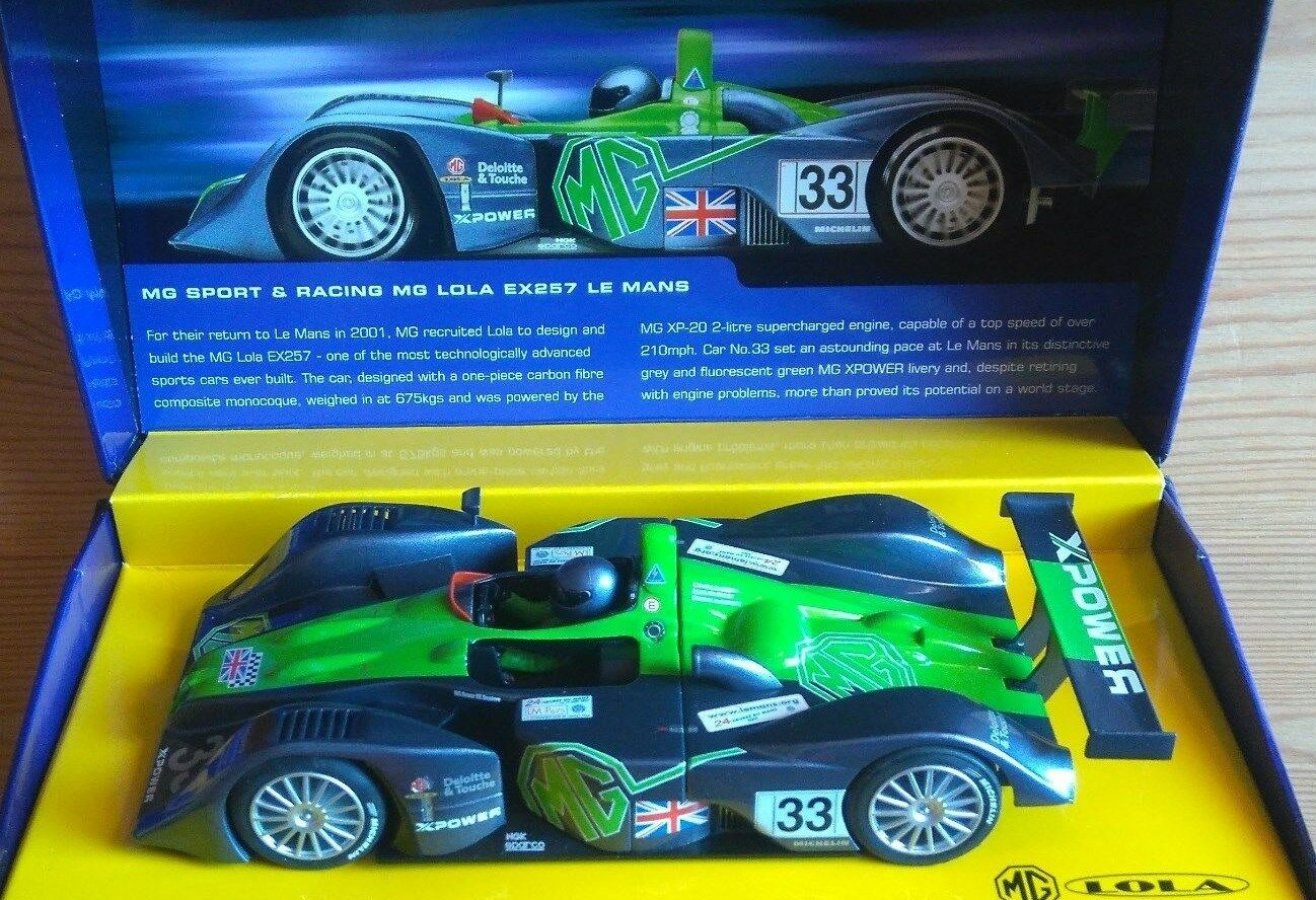 Scalextric Sport C2366A  - MG Lola EX257 Le Mans 2001 - 1 32 Scale - NEW