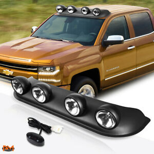 image is loading universal-4x4-clear-lens-off-road-roof-mounted-