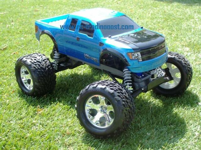 F150 SVT Raptor Custom Traxxas Stampede 1 10 RC Monster Truck Waterproof 30 MPH
