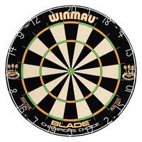 WINMAU BLADE 4 DUAL CORE CHAMPIONS CHOICE DARTBOARD Steel Tip Dart Board Trainer
