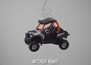 Gator Dune Buggy >> Polaris RZR 900 ATV 4x4 Custom Christmas Ornament 1/32 Gator Honda Suzuki Rhino | eBay