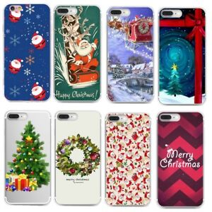 For-iPhone-7-Huawei-Christmas-Case-Soft-Silicone-TPU-Skin-Case-Phone-Back-Cover
