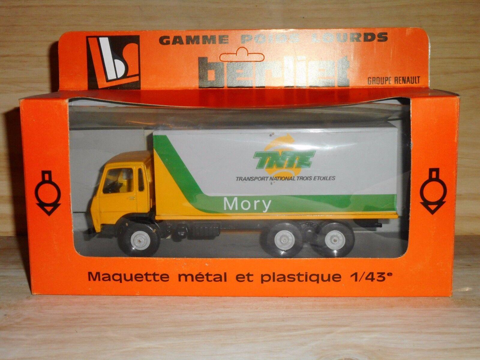 LBS eligor BERLIET  GRH 230  6X4   PUBLICITAIRE   MORY TNTE   transport