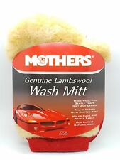 Mothers Genuine Lambswool Car Care Wash Mitt