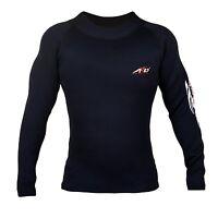 4fit Heavy Duty Neoprene Sweat Shirt Rash Guard Suana Suit Weight Loss Men Top