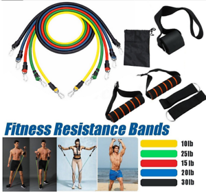 11Pcs-Set-Men-Women-Resistance-Bands-Workout-Exercise-Yoga-Crossfit-Fitness-Tube