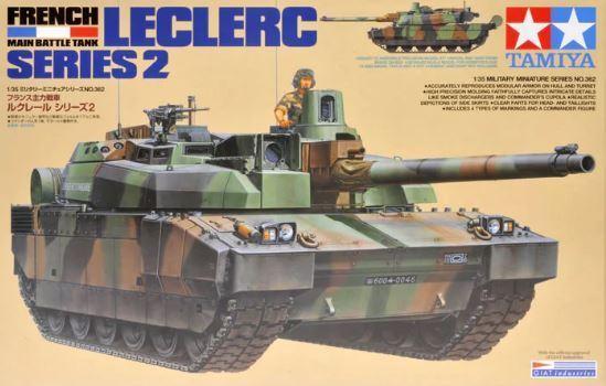 Tamiya 1 35 Leclerc Series 2 French Main Battle Tank