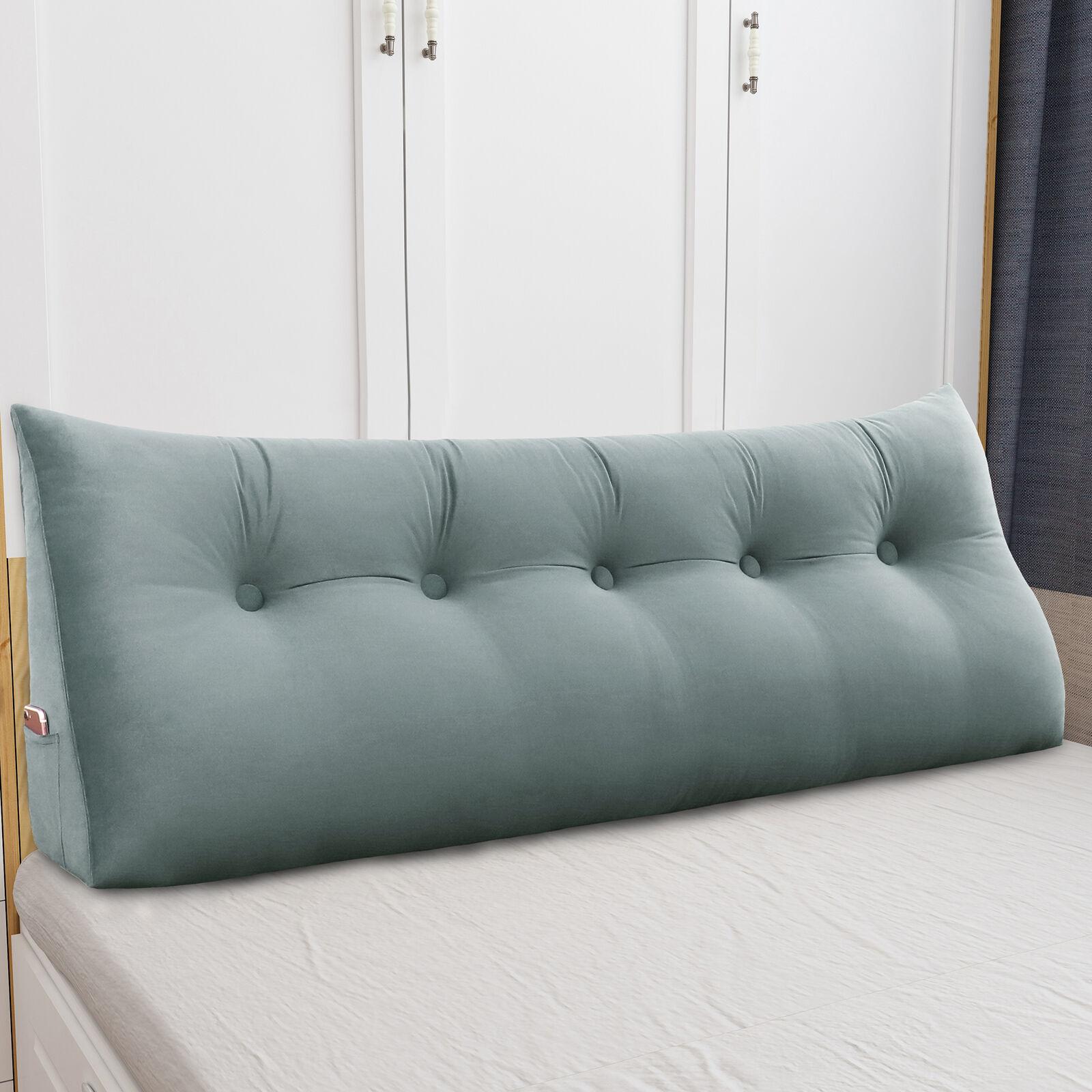 - Daybed Bolster Pillow Headboard Triangular Wedge Cushion Backrest