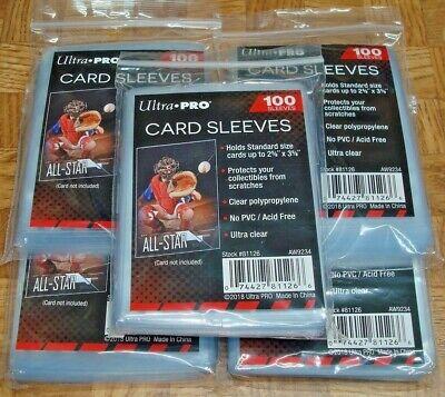 500 Ultra Pro Soft Trading Card Penny Mangas de béisbol Magic Pokemon Fútbol