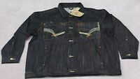 Brock Jeans Men's Jean Jacket Size - 2xl. For Big And Tall Men.