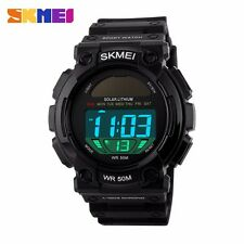 SKMEI 1126 Multi-function Solar Waterproof Outdoor Men Sport Watch