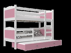 Etagenbett Dreifach : Kinderbett mati etagenbett hochbett Öko bett stockbett mit