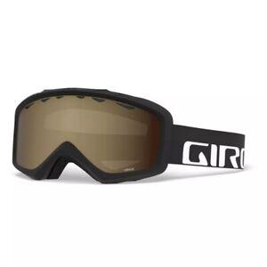 NEW-GIRO-GRADE-Goggles-YOUTH-Medium-Large-Ski-Snow-Goggle-Black-Wordmark