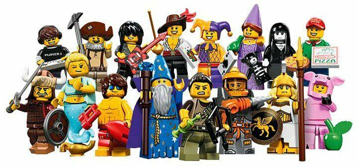LEGO 71007 Ensemble Complet de 16 MINI FIGURINES SÉRIE 12